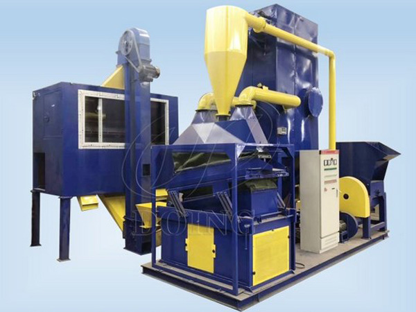 600kg / h copper cable wire recycling machine running process