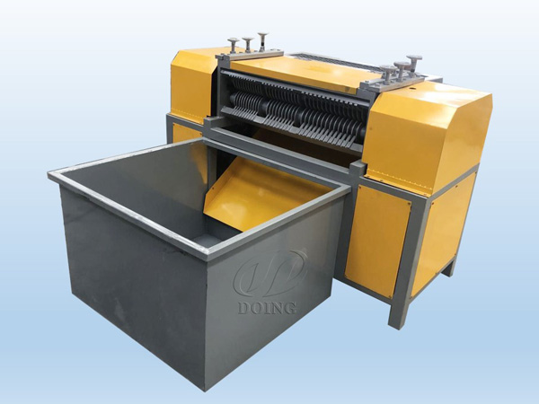 The video of stripping type radiator separator