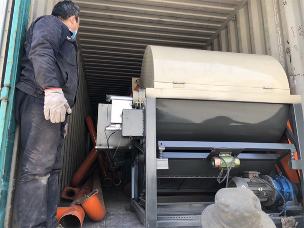 One set electrostatic component dismantling machine delivered to Vietnam