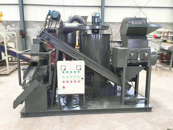 Small type copper wire recycling machine