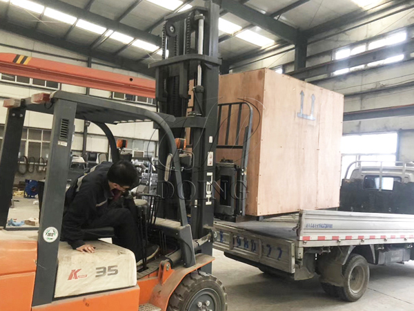 One set PCB dismantling machine was delivered to New Zealand