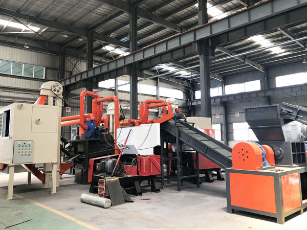 1T/H copper wire granulator machine will be shipped to America